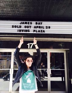 """James Bay - """"So come on, let it go, just let it be, why don't you be you and I'll be me?"""""""