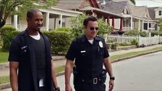 "Let's Be Cops - 2014 - Official Movie Trailer Comedy Get DVD Rs 250  Two struggling pals dress as police officers for a costume party and become neighborhood sensations. But when these newly-minted ""heroes"" get tangled in a real life web of mobsters and dirty detectives, they must put their fake badges on the line.  Director:Luke Greenfield Writers:Luke Greenfield, Nicholas Thomas Stars:Jake Johnson, Damon Wayans Jr., Rob Riggle 