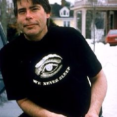 Stephen King calls Bangor, Maine home.  Lookit him wearin' justah t-shirt in tha' wintah!  (truthfully, that ain't nuthin'.  Some folks wear shorts in the winter here in Maine).