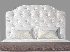 Items similar to White Faux Leather King Size Tufted Upholstered Bed with Mirrors King Bed Upholstered Bed Mirrors Tufted Bed Headboard Upholstered Headboard on Etsy Headboard Decal, Full Size Headboard, Custom Headboard, Black Headboard, Modern Headboard, Velvet Headboard, Tufted Bed, Headboard Designs, Upholstered Beds