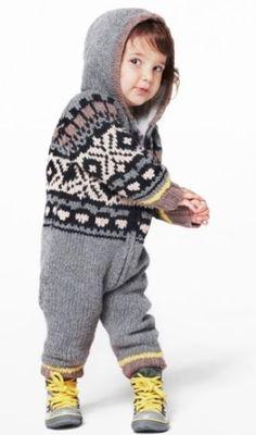 Stella McCartney, Baby Knitted Fairisle