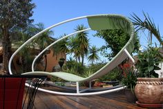 Lounge Around; Specialty outdoor furniture by Fabric Images, Inc.