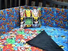 Comic Book Crib Pillow | Geek-a-bye Baby