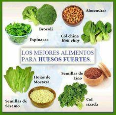 Los mejores alimentos para huesos fuertes