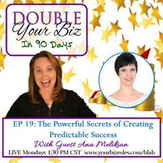 The Powerful Secrets of Creating Predictable Business Success http://yourbizrules.com/powerful-secrets-creating-predictable-success/
