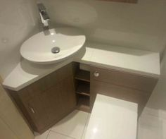 Beautiful Corner Bathroom Vanity With Sink V 2