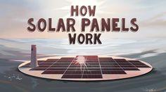 How Solar Panels Work, Solar Energy Panels, Solar Panels For Home, Best Solar Panels, Ted, Landscape Arquitecture, Architecture 3d, Sun Power, Solar Roof Tiles
