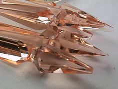 pink chandelier crystals - Google Search