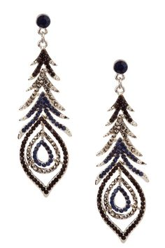 Peacock Paradise Earrings