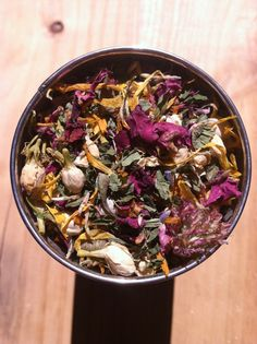 A Recipe for a Floral Spring Cleansing Tonic