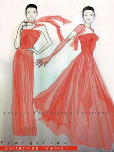 "Collection  ""Vento"" 2015 #FashionHouseFrangiluna  #MaisonModaFrangiluna #Moda #AltamodaFrangiluna #ModaItaliana #FashionWeek #Dominicanamoda #AntonioFrangilunaScrimenti  #Frangilunamoda #Fashiondesign"