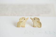 cute elephant earrings,Jewelry,Earrings,Post,elephant ,cute animal,pet kids,elephant earrings,elephant jewelry
