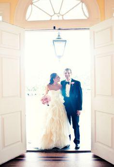 A Charleston wedding photo taken by Sean Money + Elizabeth Fay
