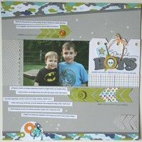 A Project by jrench from our Scrapbooking Gallery originally submitted 10/25/12 at 10:46 PM