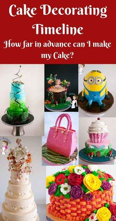 The most common question that gets asked when one has to decorate a cake – when … - Creative Cake Decorating Ideen Cakes To Make, How To Make Cookies, How To Make Cake, Creative Cake Decorating, Cake Decorating Designs, Creative Cakes, Cookie Decorating, Decorating Ideas, Fondant Cakes