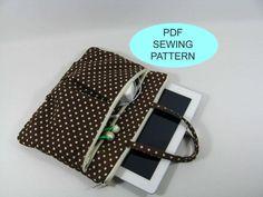 Sewing Patterns iPad Bag