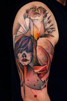 Geometric Tattoos - Inked Magazine