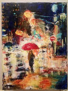 ArtDia / Svetlá veľkomesta Image, Painting, Art, Art Background, Painting Art, Kunst, Paintings, Performing Arts, Painted Canvas