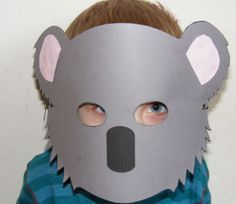 Koala Mask Everywhere Fun Fair - Vacation Bible School Vbs Crafts, Fall Crafts, Preschool Activities, 1st Grade Crafts, Koala Craft, Cultural Crafts, Fun Fair, Australia Day, Animal Masks