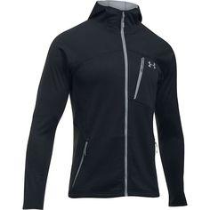 Under Armour Men's UA ColdGear Reactor Fleece Jacket - Small - Black / Steel
