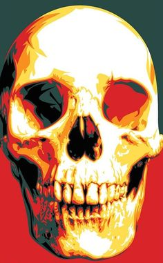 Carpe Diem Skull - Artist Mel Marcelo