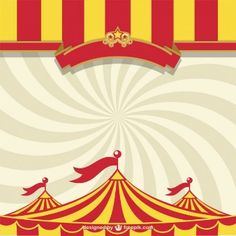 Circus tent free template