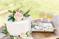 Kelli Holder Photography | Dallas, TX  Beautiful wedding cakes for outdoor weddings. Love Birds Wedding, Beautiful Wedding Cakes, Wooden Cake Toppers, Outdoor Weddings, Photo Props, Vanilla Cake, Wedding Engagement, Dallas, Favors