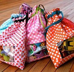 Bolsas con zona transparente... Ideal para juguetes y demás...
