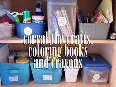 preschool projects / art supplies and storage (via @marta dansie)