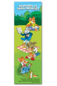 Geronimo Stilton Bookmark - Bookmarks - Products for Children - ALA Store