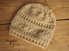 Pattern - Sugar and Spice Slouch Hat - Kirsten Holloway Designs