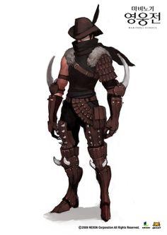 Badass game character design