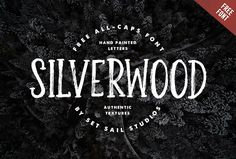 Silverwood Free Font #typeface #brushfonts #fonts #freefonts #freebies #scriptfonts #FridayFreebie #freebiefriday