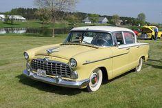 1955 Hudson Wasp Super 4-Door Sedan 202ci (3.3L) H-Power 6-Cylinder 120hp Engine