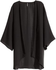 H&M - Kimono - Black - Ladies