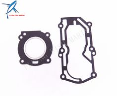 Boat Motor Complete Power Head Seal Gasket Kit for Parsun 2-Stroke T2.5 T3.6 Outboard Engine