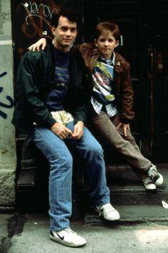 BIG, Tom Hanks, Jared Rushton, 1988 | Essential Film Stars, Tom Hanks http://gay-themed-films.com/film-stars-tom-hanks/