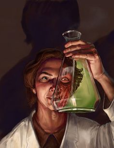 Mad Scientist by thegryph