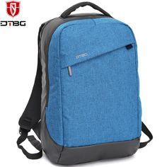 DTBG Brand Casual Notebook Backpack 15.6 inch Waterproof Laptop Backpack for Men Women Teens External USB Charge Computer Bag