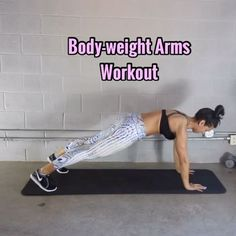 High strength workouts are cardio workouts that are targeted at getting the maximum effort in a brief duration of time. The secret is to keep the intensity levels at the maximum. My Trainer Carmen, Lower Ab Workouts, Cardio Workouts, Body Workouts, Exercise Routines, Arm Day, Thing 1, Butt Workout, Body Weight