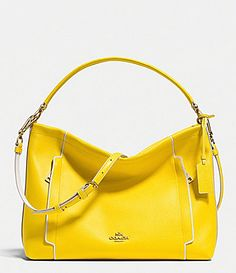 Coach Scout Hobo Shoulder Bag in Colorblock Leather 4d445784e29cf