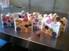 #soapcrafting Summer Kitchen Soaps Soap-A-Dots