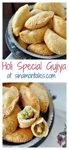 One cannot think of Holi and not think of Gujiya at the same time. The crisp outer layer and the sweet and soft stuffing of khoya and dry fruits make this a delight to eat. Here is a recipe to make them at home this Holi