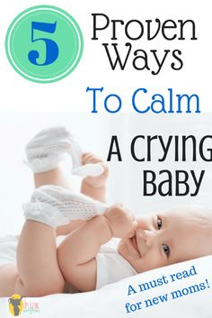 Crying babies can be so mentally taxing! Here a great tips and tricks to help with your crying baby!!