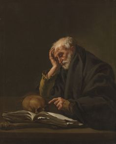 Hendrick Terbrugghen - St. Jerome (1621); Cleveland Museum of Art, Ohio