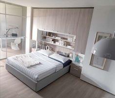 Camere da letto matrimoniali a ponte - Mobili capienti per la camera