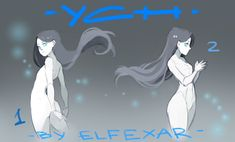 [close] YCH Auction: poses 3-4 by elfexar