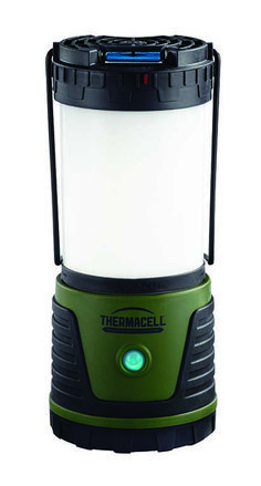 Bug Off // ThermaCELL's newest lantern is nearly as bright as a car headlight and provides a 15' x 15' area of mosquito protection.