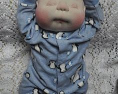 SALE. Life size 22 tall Soft Sculptured Baby Boy. All