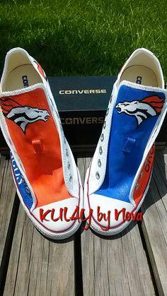 e8e44682f924 Denver Broncos Hand painted custom made shoes by KULAYbyNova